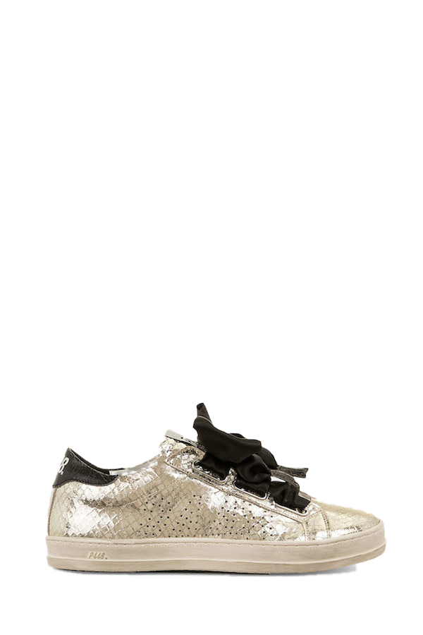 Ralph 2.0 Bow Sneaker in Platinum