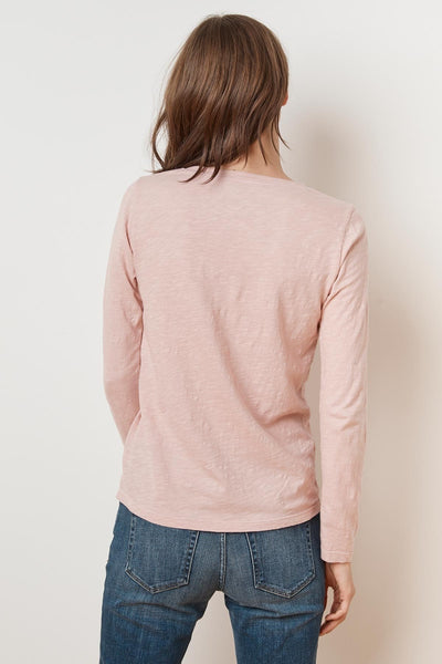 Blaire L/S V-neck T-shirt