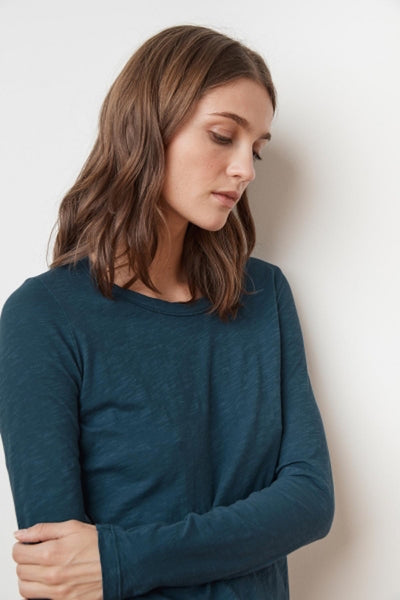 Lizzie Long Sleeve Round Neck T-shirt