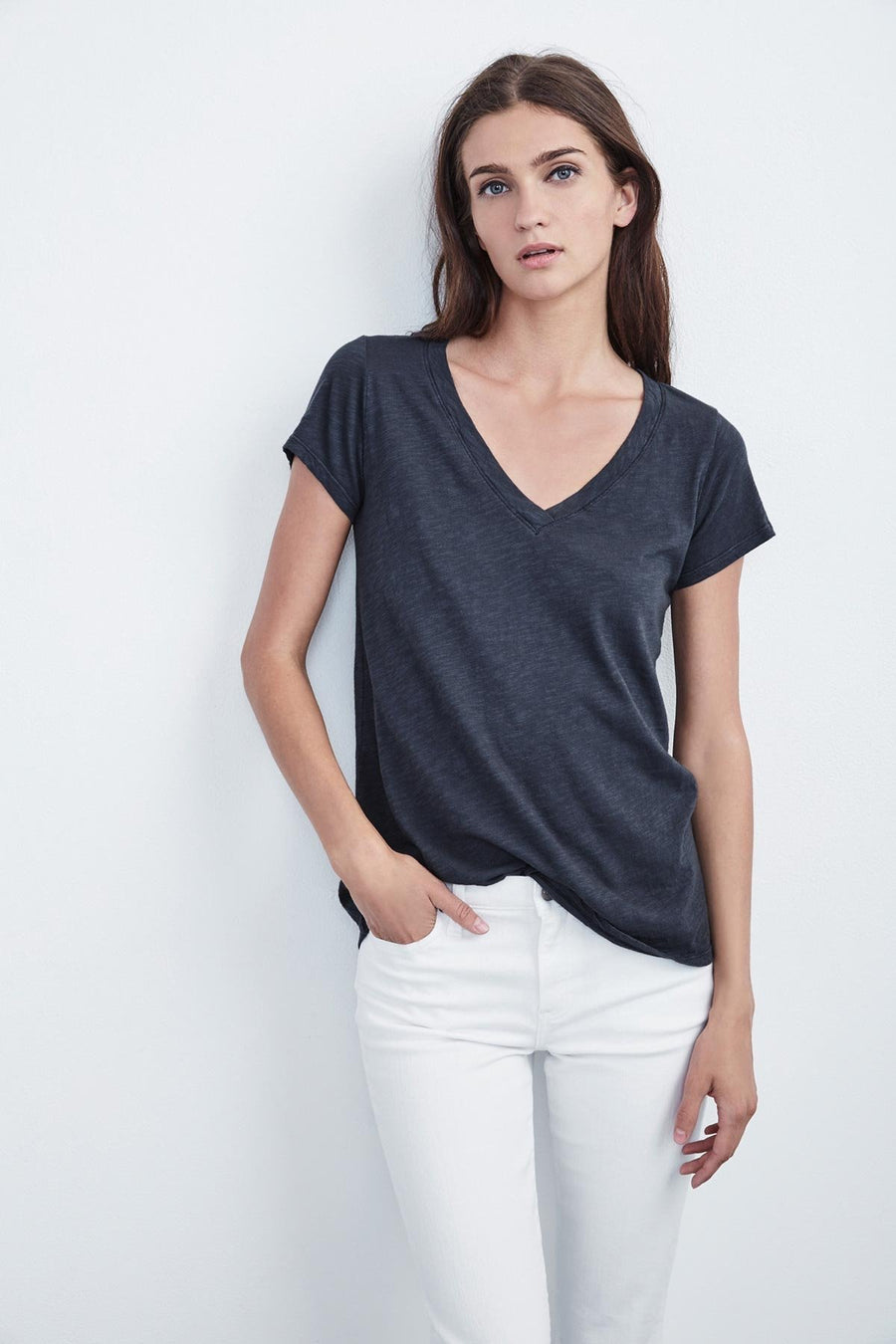 Jilian V-neck T-shirt