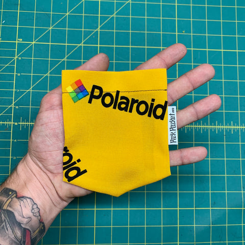 Polaroid Yellow Pocket T-Shirt - Pick Pocket Manufacturing