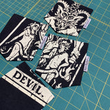 Tarot Card Devil 4 Pocket T-Shirt - Pick Pocket Manufacturing