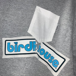 Birdhouse One-Off Pocket Crewneck Sweatshirt - Pick Pocket Manufacturing