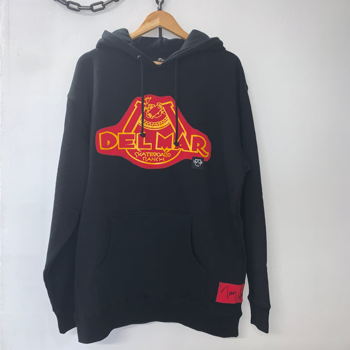 Del Mar Skate Ranch One-Off Hoodie - Pick Pocket Manufacturing