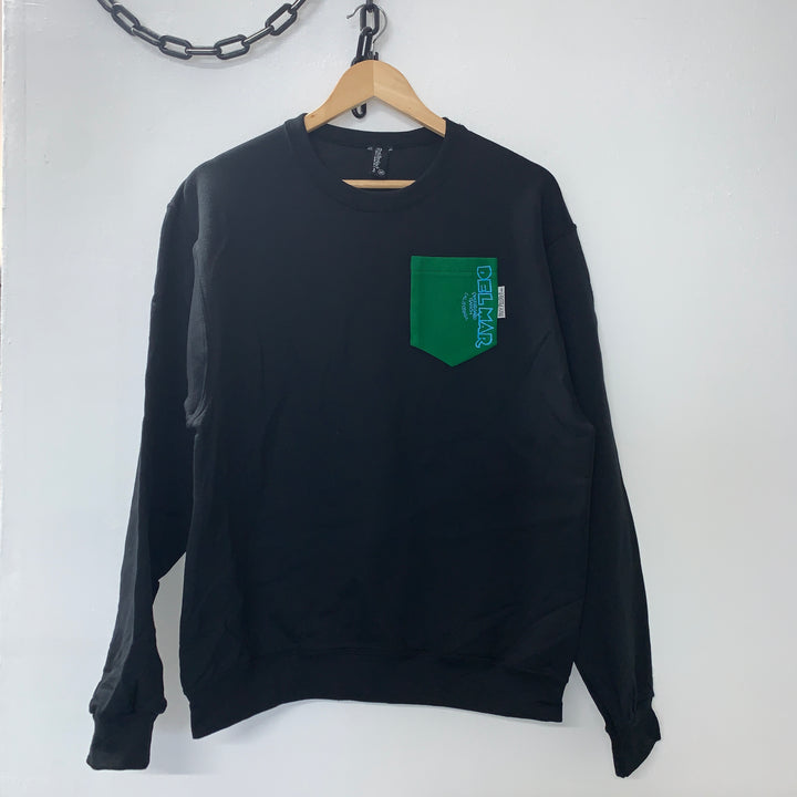 Del Mar Skate Ranch One-Off Crewneck Sweatshirt - Pick Pocket Manufacturing