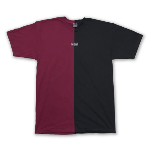 Dent Shirt Burgundy/Black - Pick Pocket Manufacturing