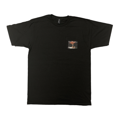 Explode Pocket Tshirt Black - Pick Pocket Manufacturing