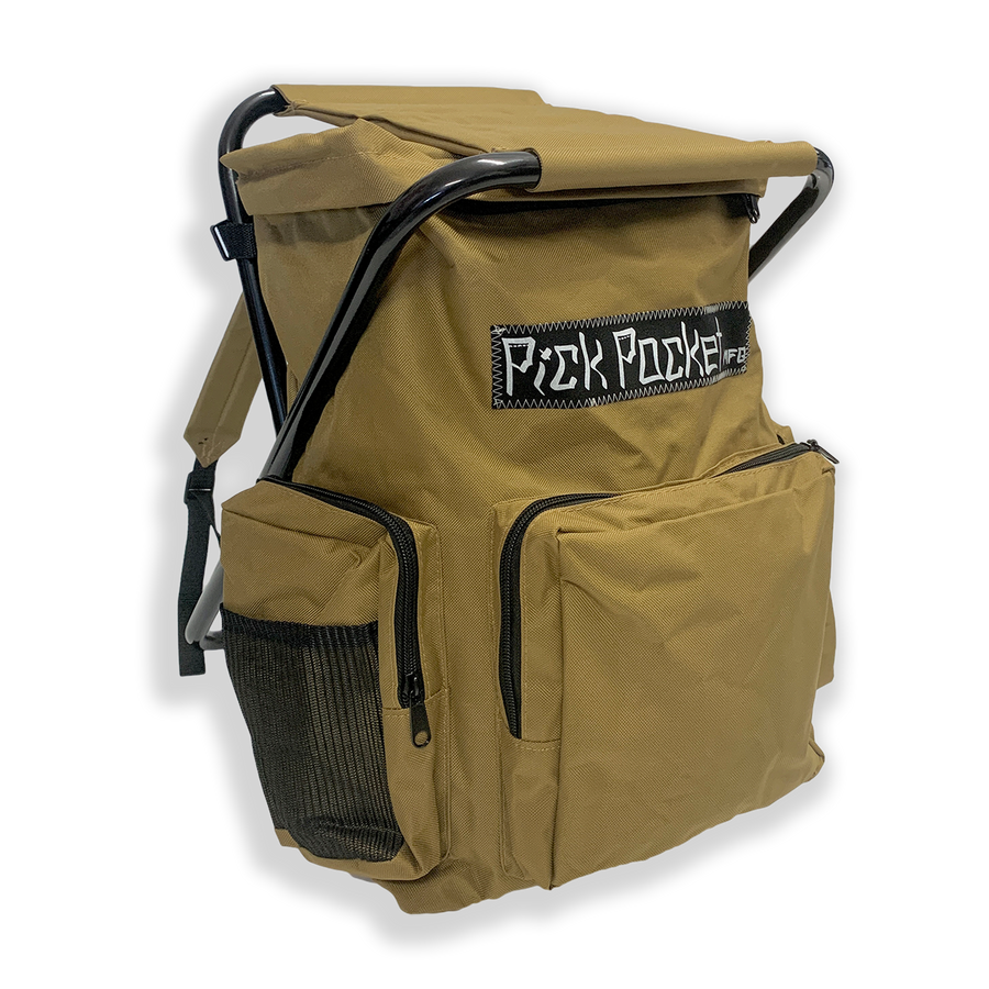 Grit Weekender Stool Backpack