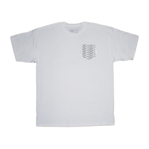 Repeat Pocket Tee (white pocket)