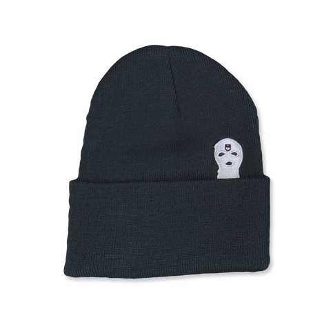 Hidden Beanie Black - Pick Pocket Manufacturing