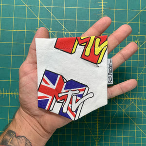 MTV Great Britain Vietnam Pocket Tee