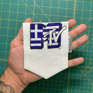 MTV Greece Pocket Tee