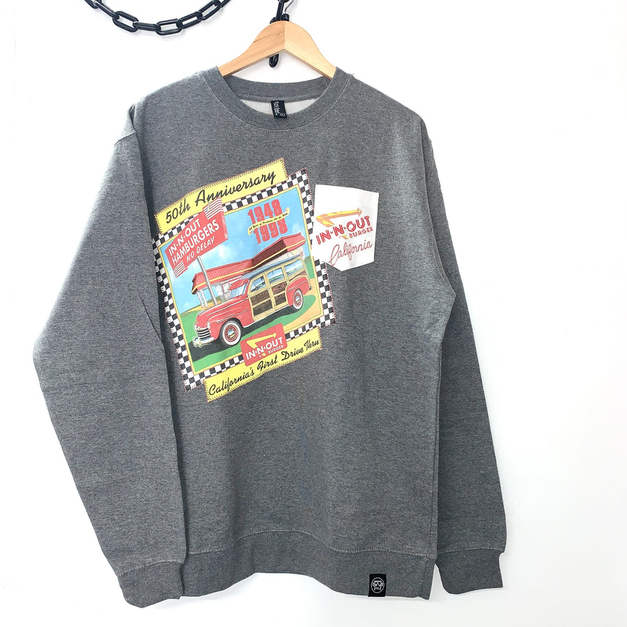 In N Out 50 Years One-Off Crewneck Sweatshirt