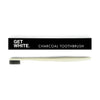 Charcoal bristles toothbrush