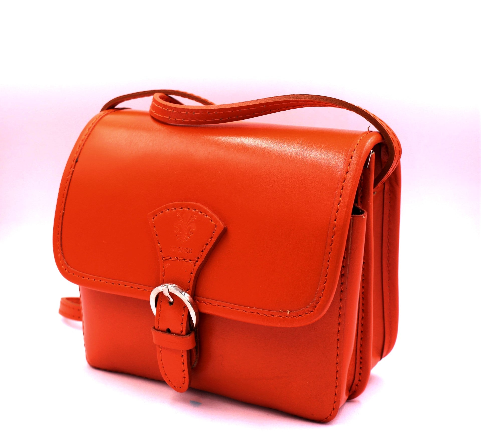 Arancia Leather Crossbody Bag - Bridges to Borders