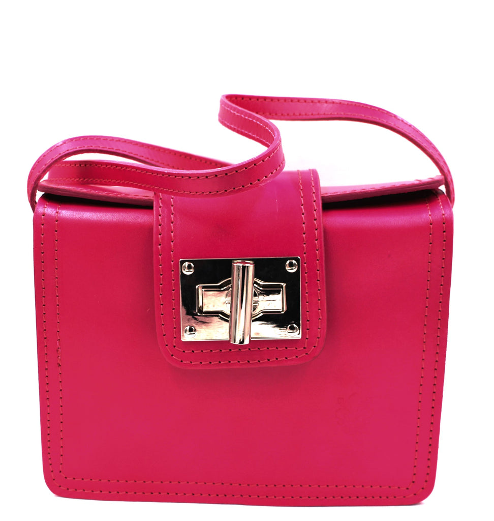 Rosa Leather Crossbody Bag - Bridges to Borders