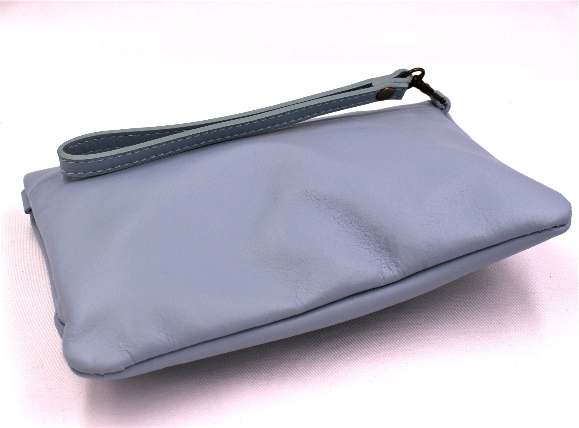 Azzurro Leather Crossbody Bag - Bridges to Borders