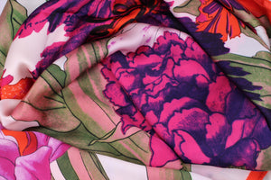 Mulitcolored Floral Scarf - Bridges to Borders