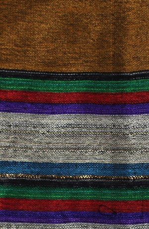 Multicolored Stripe Scarf - Bridges to Borders