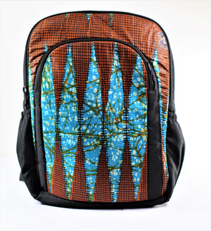 Medium Kitenge Backpack - Bridges to Borders