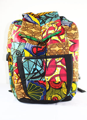 Oversized Kitenge Backpack - Bridges to Borders