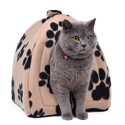 Soft Cotton Cat House in 5 Colors