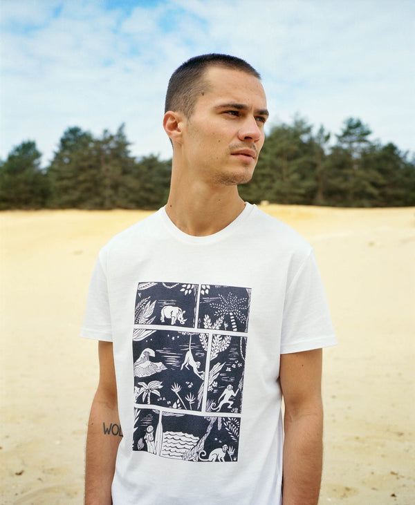 "T-shirt ""La loi de la jungle"""