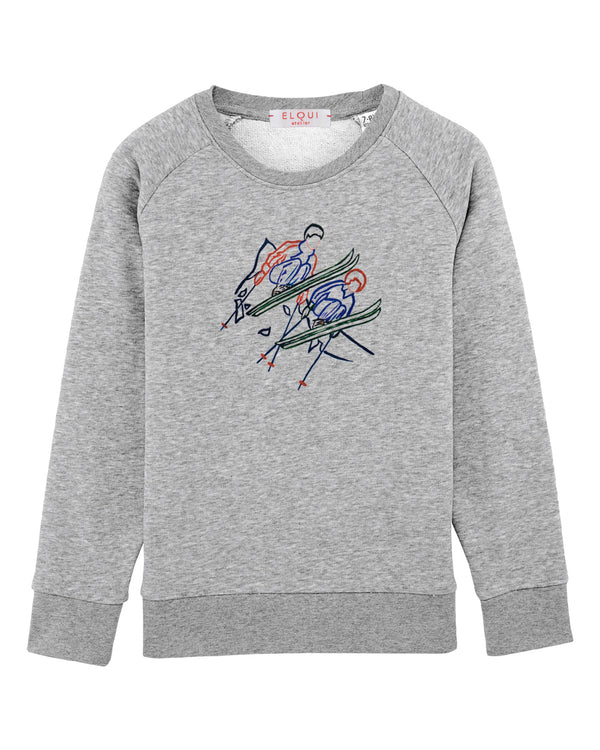 "Sweat enfant ""Le Grand Saut """