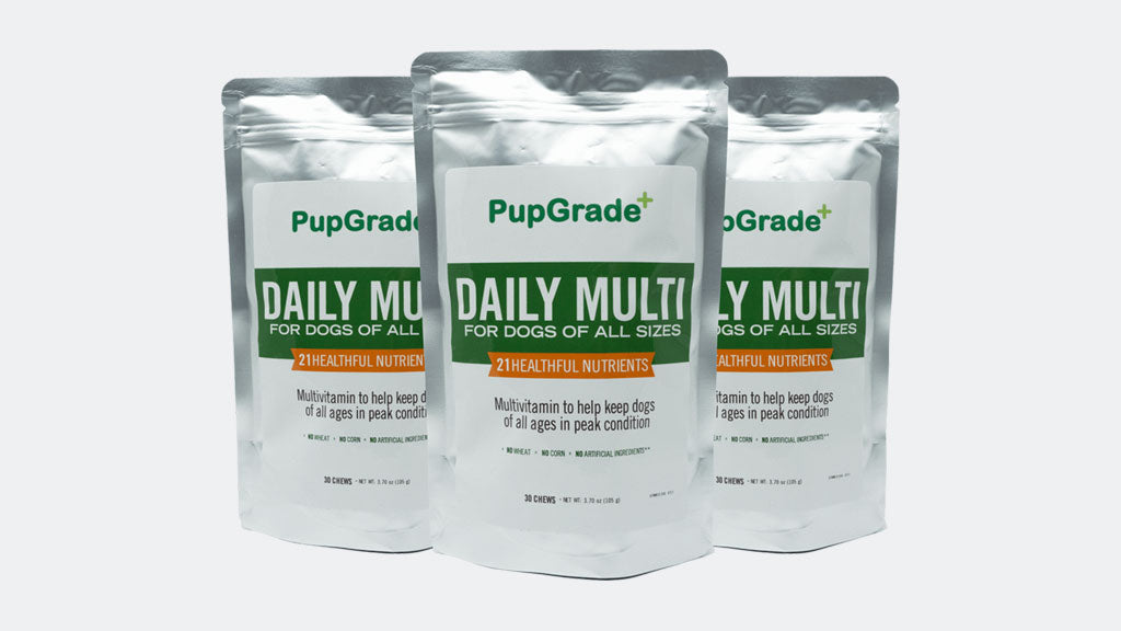 Introducing: PupGrade MultiVitamin!