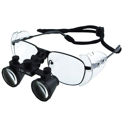 DL-025   Titanium 2.5x Frame Dental Surgical Binocular Loupes
