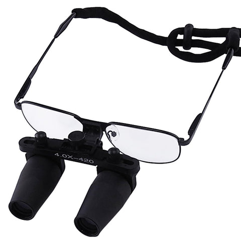 NDL-040N Nickel Alloy 4.0x Frame Dental Surgical Medical Loupes Dentistry