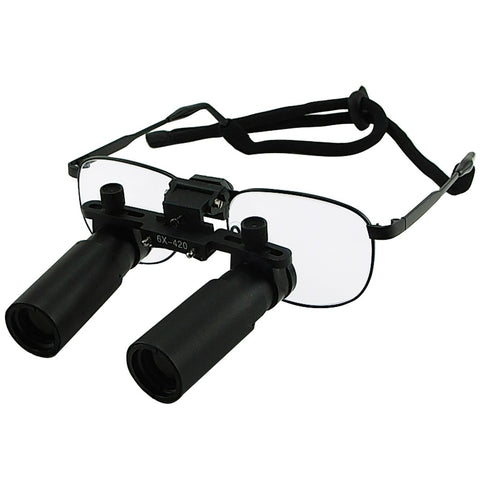 NDL-060N Nickel Alloy 6.0x Frame  Dental Surgical Medical Loupes Dentistry