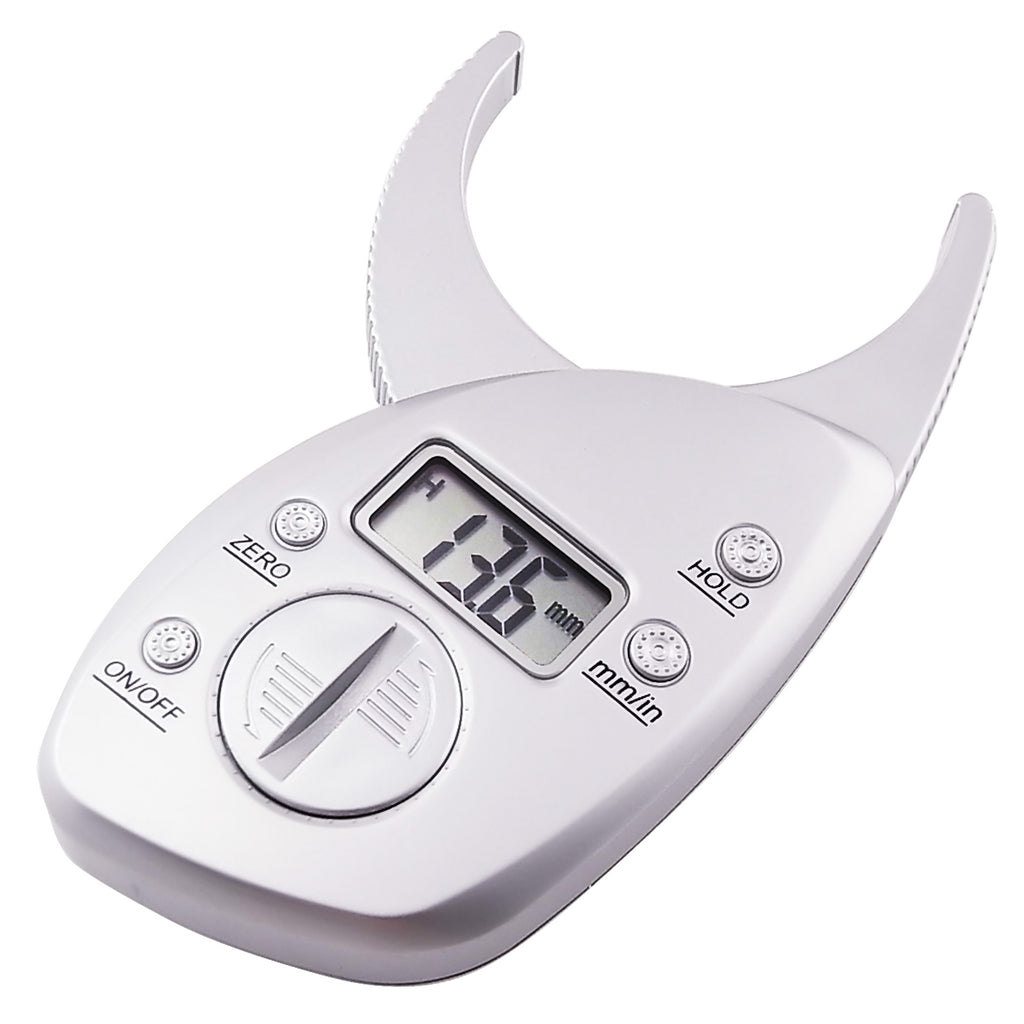 510-160 Digital Body Measuring Fat Caliper Measure mm inch Tool Body Fat Tester, Body Fat Monitors for Health Monitoring