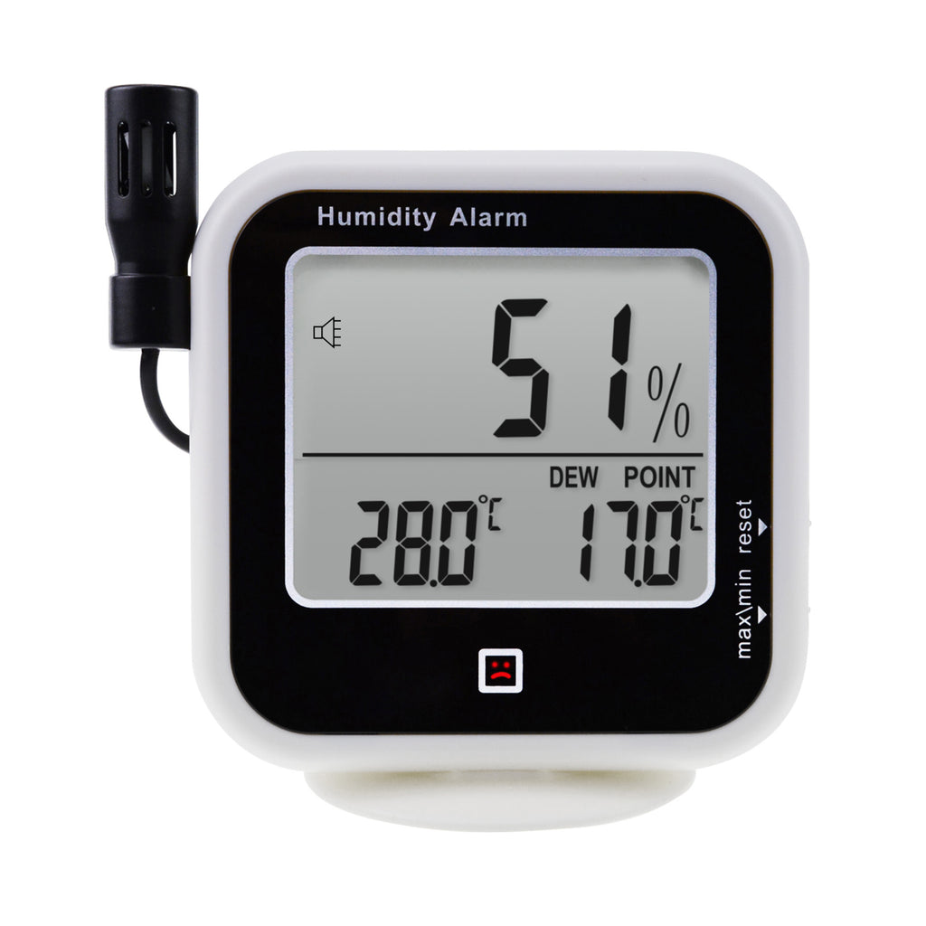 E04-019 Digital Thermo-Hygrometer Thermometer Measure Dew Point & Relative Humidity RH