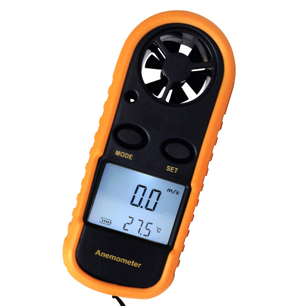 AM-816 Digital Wind Speed Gauge Sports Anemometer Thermometer