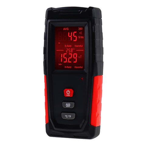 EMF-280 Digital EMF Tester Electric and Magnetic Field Radiation Detector Dosimeter
