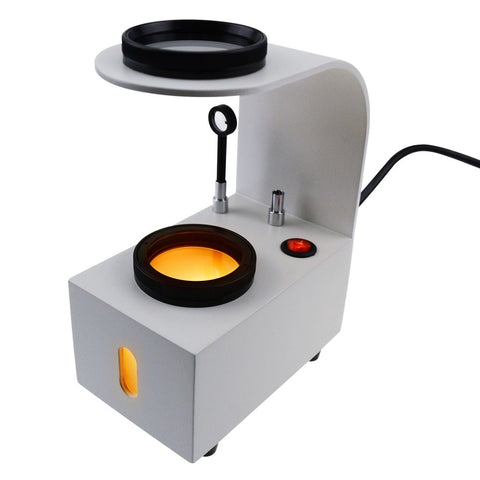 GS-PS1 Desktop Standing Polariscope Built-in LED Rotatable Platform 2 Glass Filter 110V or 220V