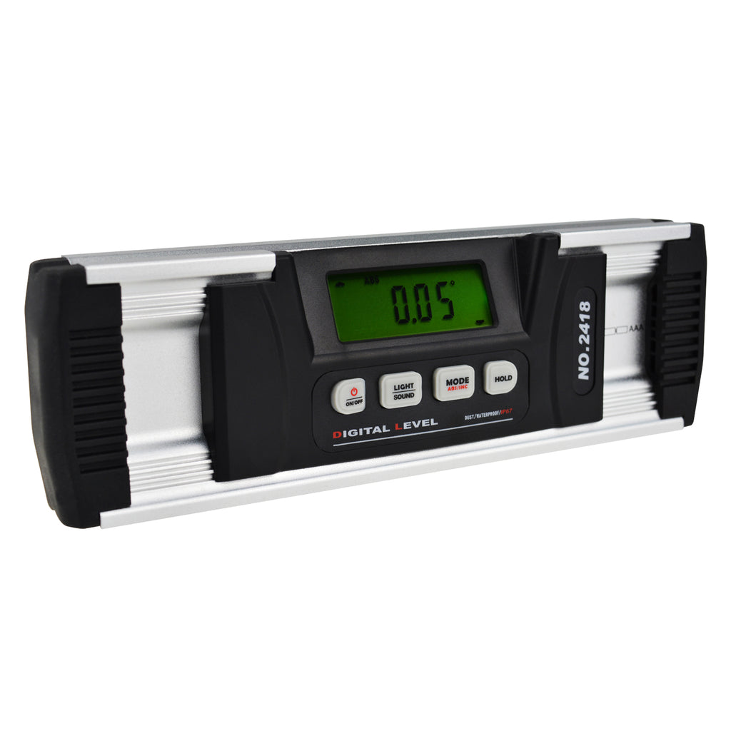 AGF-202  Digital Angle Finder Inclinometer IP67 with Magnetic V-Groove Base