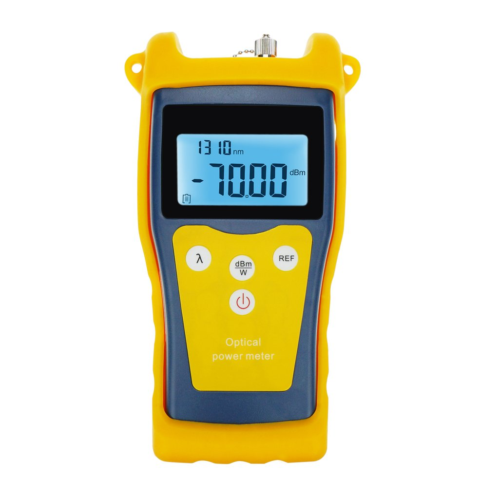 NF-906C New Fiber Optical Optic -50 ~ +26 dBm Power Meter Tester Fault locator FC SC ST LC for CATV CCTV Telecommunications Cabling System