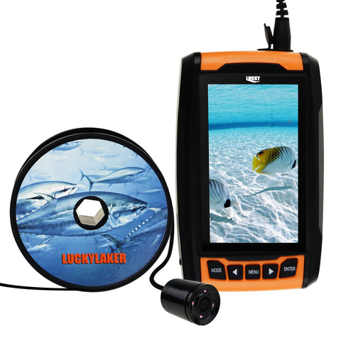 FF-180PR LUCKY Underwater Camera Fish Locator Finder 120° Wide Angle 20M Cable Length 4 IR LED 4.3""