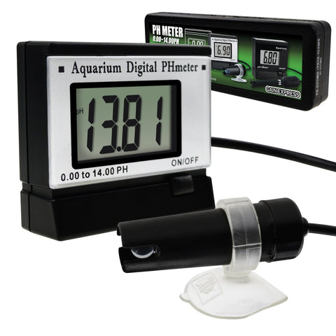 PH-025WO Digital pH Monitor Meter ATC 0.0~14.0pH 1.5M Cable Electrode Probe, Water Quality Tester