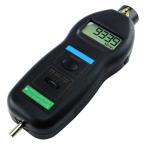 DT-2236C 2in1 Digital Laser / Photo / Contact / Tachometer w/ ft & m/min