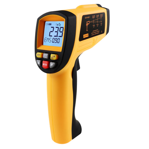 THE-266 Lasergrip Non-Contact Laser Infrared Thermometer -30℃~1500℃ (-22℉~2732℉)
