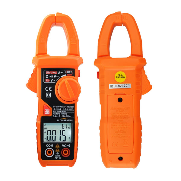 CLM-221 Smart Digital Clamp Meter Multimeter 6000 Counts Auto Scan AC/DC Voltage ACA NCV Tester