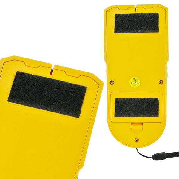 E04-022 3 in 1 Stud / Metal / AC Wire Detector, Handheld Wall Wood Metallic Pipe Voltage Live Scanner Finder Tracker