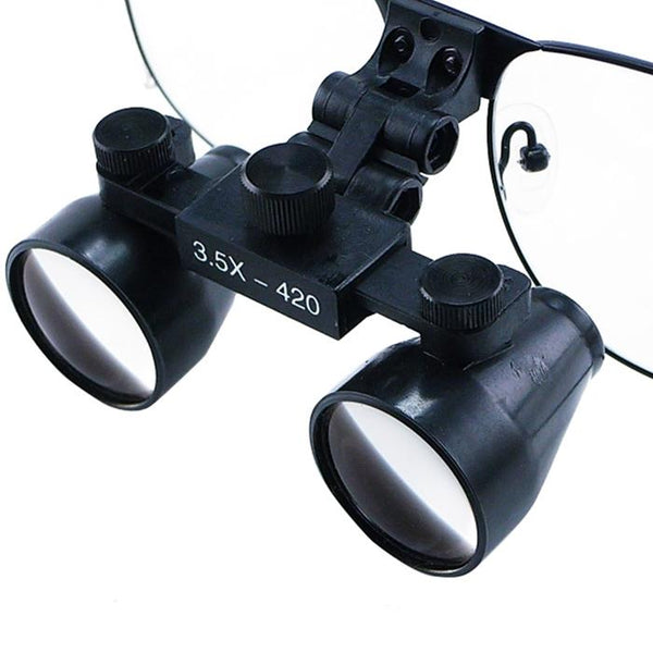 DL-035  Titanium Frame 3.5x Dental Surgical Binocular Loupes