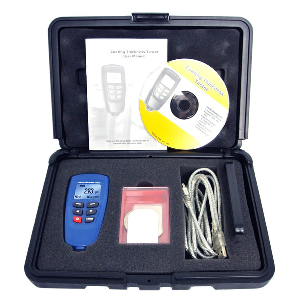 DT-156 CEM Paint Coating Thickness Meter Gauge F/NF 1250um