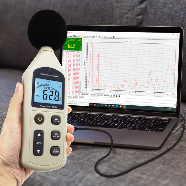 SLM-270 Digital Audio Decibel Meter Sound Level Meter Noise Level Tester