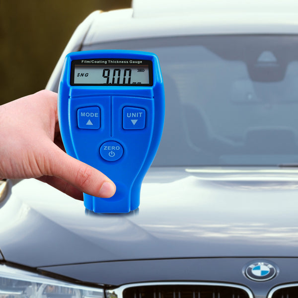 TMG-50 Portable Film Coating Thickness Gauge Tester Meter, Automotive Car Nondestructive, Non-magnetic Coating on Metal