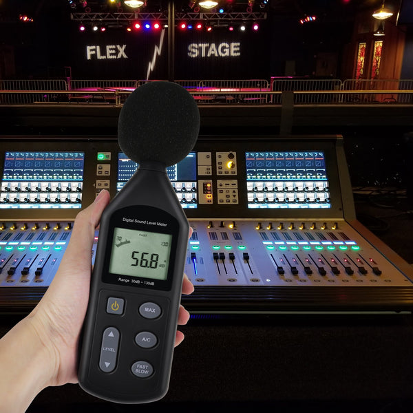 SLM-269 Sound Level Meter Audio Decibel Noise Tester 30~130dBA Volume Measuring Instrument